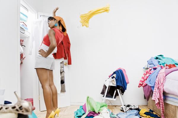 curatenie in garderoba