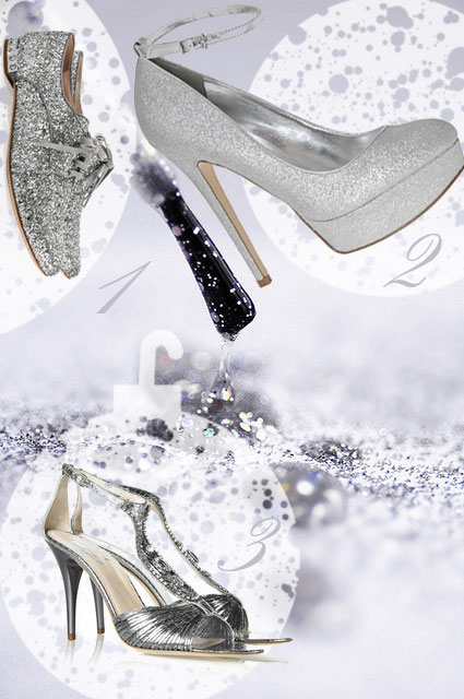 pantofi glitter de revelion