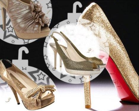 pantofi glitter de sarbatori