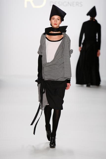 designer Lucian Broscatean - berlin fashion week