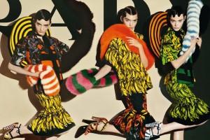Colectia de moda Prada primavara-vara 2011