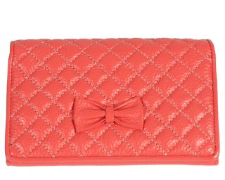 portofel din piele roz