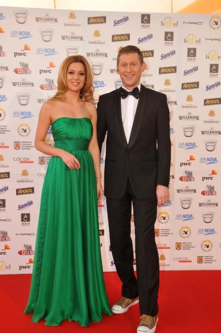 Amalia Enache si Mircea Solcanu la Gala Premiilor Gopo 2011