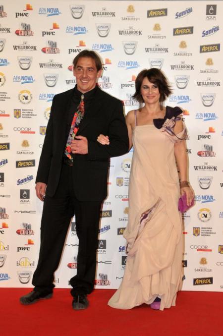 Bogdan Voda si Clara Voda la Gala Premiilor Gopo 2011