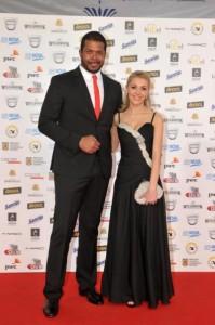Cabral si Andreea Patrascu la Gala Premiilor Gopo 2011