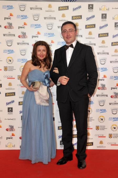 Daiana Voicu (Willbrook) si Tudor Giurgiu la Gala Premiilor Gopo 2011