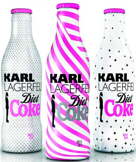 Karl Lagerfeld Diet Coke 2011