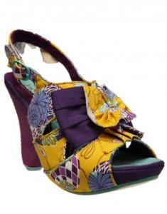 Sandale Tutti Fruits yellow de la Fashionlab 2