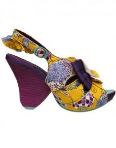 Sandale Tutti Fruits yellow de la Fashionlab