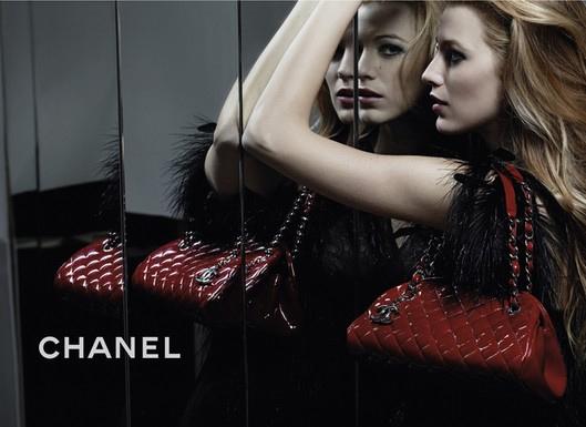 Blake Lively pentru Chanel