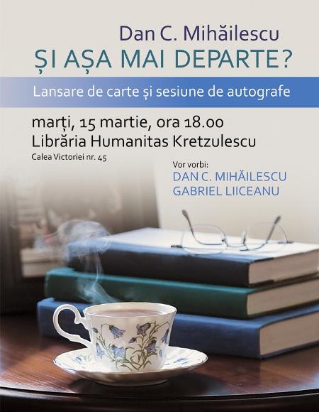 editura humanitas invitatie la o lansare de carte