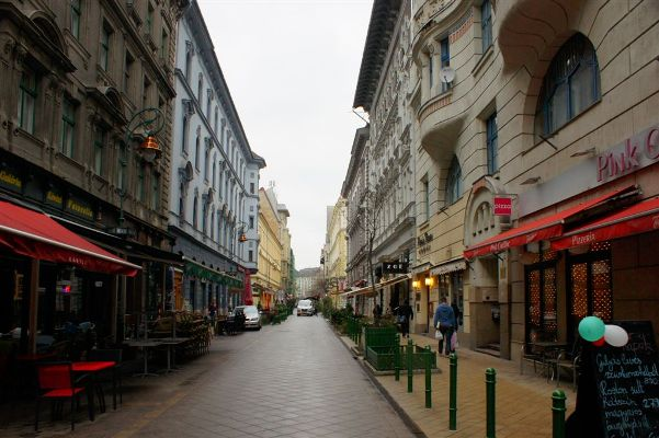 stradute din budapesta