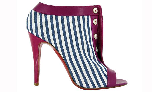 modele de pantofi cu dungi