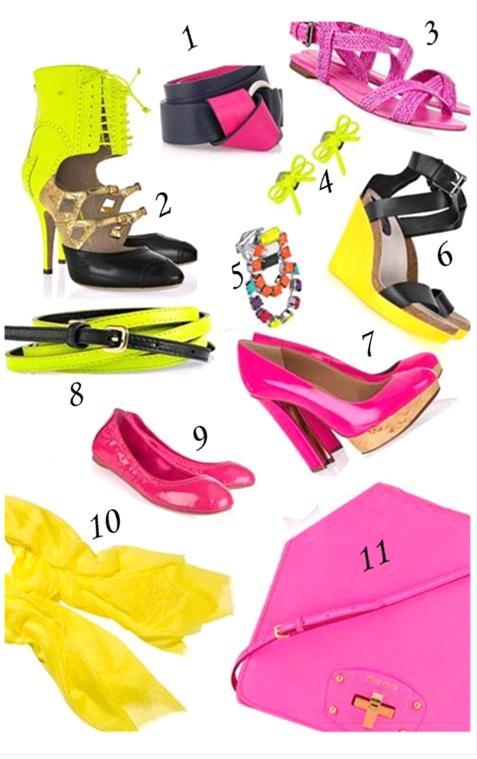 culori neon la moda