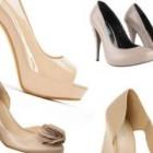 La shopping: pantofi nude