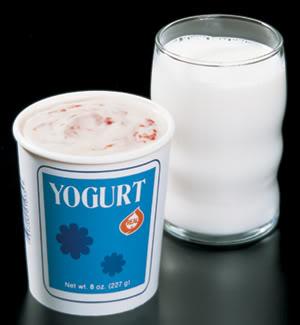 lapte si iaurt