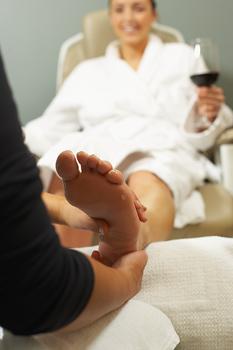 masaj la picioare
