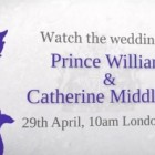 Nunta printului William cu Kate Middleton in direct pe YouTube
