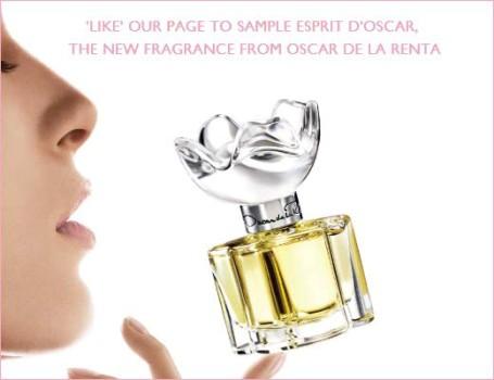 parfumul de la Renta promovat pe facebook