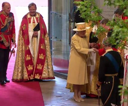 regina elisabeta la nunta regala