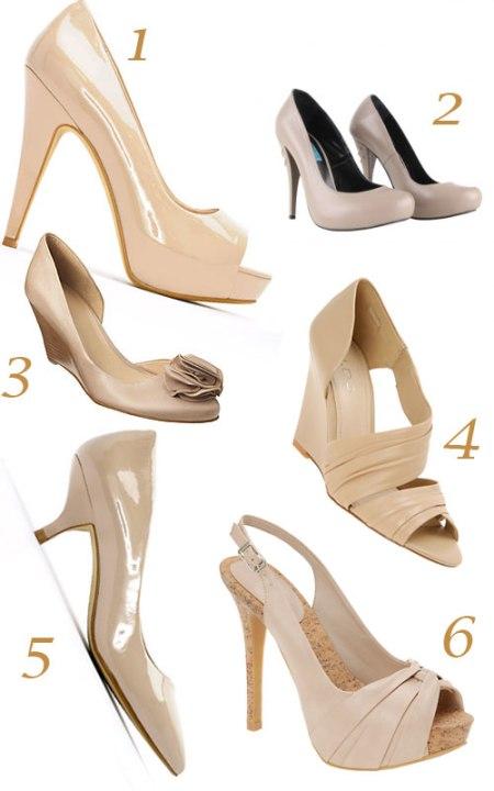 sandale nude la moda