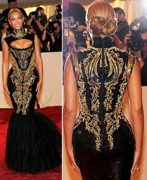 Beyonce la Met Gala 2011