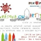 Teatru, arte, carte si design floral, in GRADINA CU ARTISTI