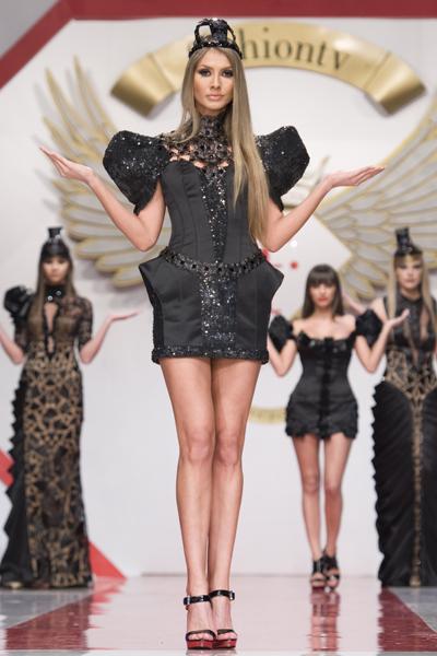 bucharest fashion week 2011 - walid atallah