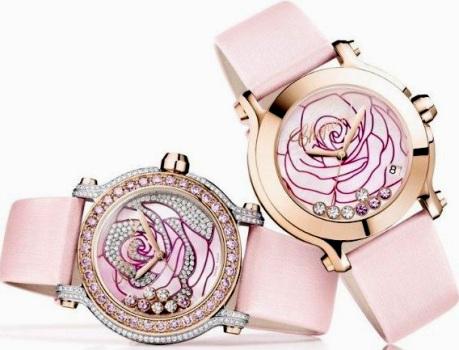 ceasurile roz Chopard