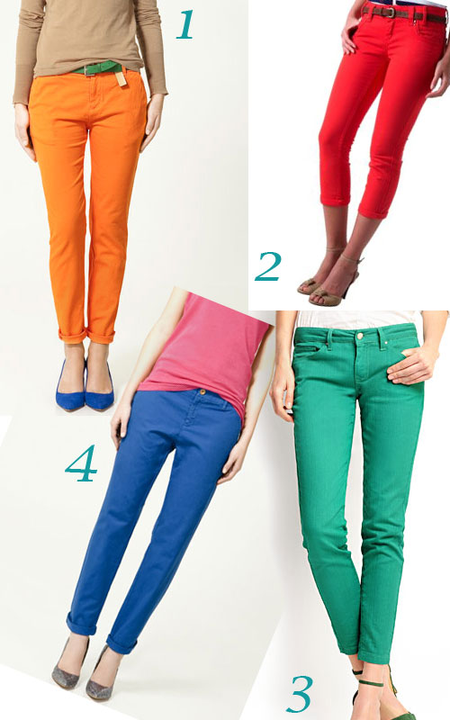 la cumparaturi de pantaloni neon 2