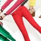 La cumparaturi: pantaloni neon