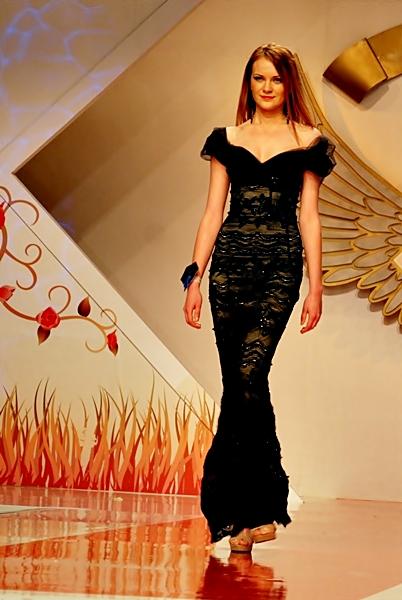 rochie de seara ersa la bfw 2011