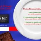 Delicii culinare italiene in Letters Bar