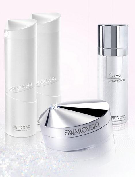 colectia de produse cosmetice Swarovski