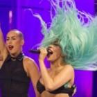 Lady Gaga socheaza: si-a vopsit parul… de sub brat!