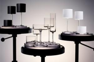 paharul sus pentru karl lagerfeld - colectie de pahare kl