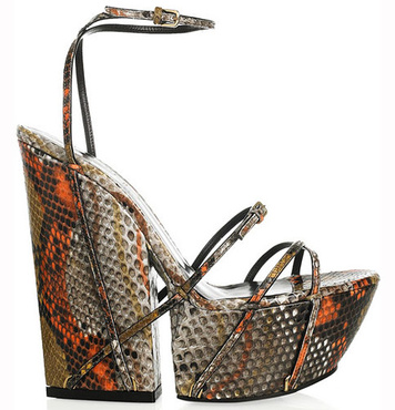 pantofi cu platforma ysl