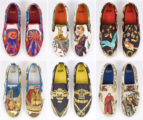 poze pantofi Hermes si Vans