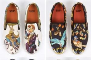poze pantofi de la Hermes si Vans