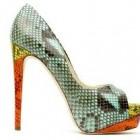 Shopping: pantofi din piele de sarpe