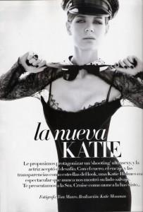 Katie Holmes in Vogue