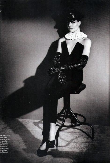 Katie Holmes in Vogue August 2011