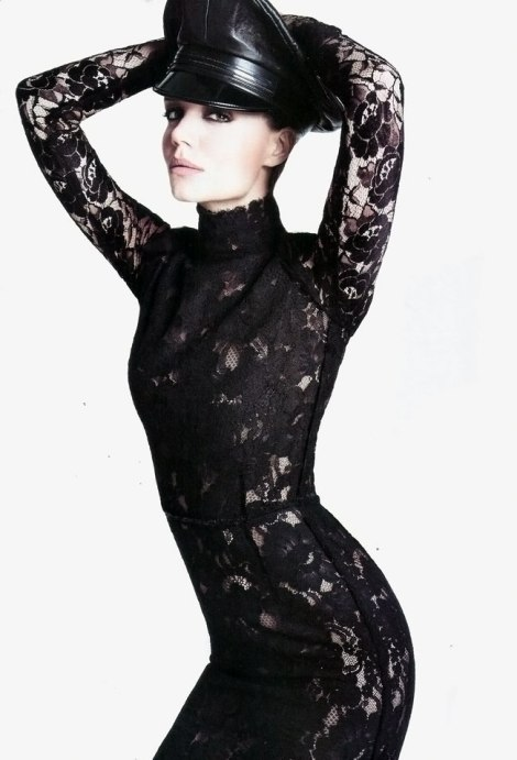 Katie Holmes in revista Vogue Spania August 2011 -2