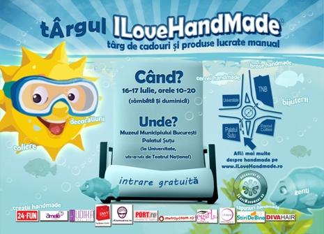 Targ ILoveHandmade 16-17 Iulie