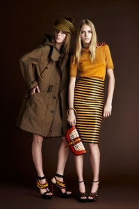 tendinte in moda 2012 - burberry