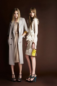 colectie de moda burberry
