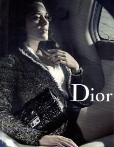 campanie de promovare genti Dior