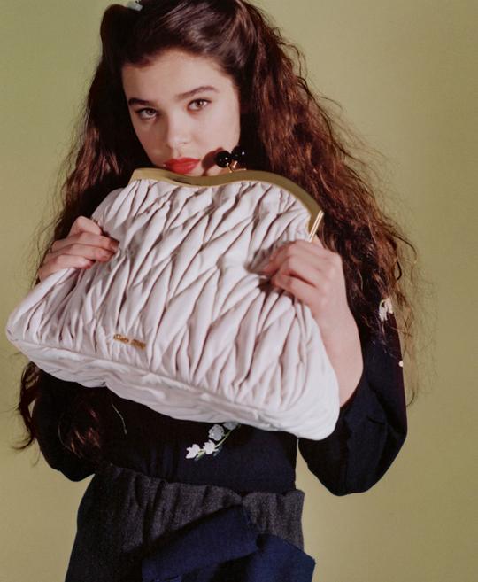 geanta alba la moda
