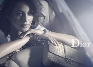 imaginea casei de moda Dior - Marion Cotillard