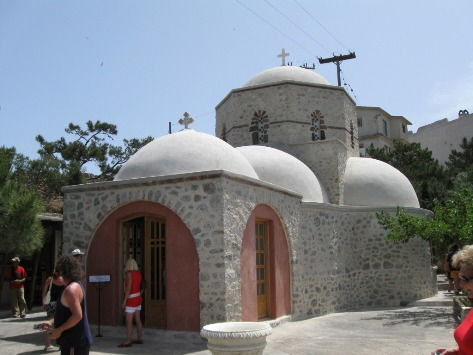 manastirea din santorini